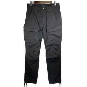5.11 Tactical Black Drawstring Ankle Cargo Pants 32 x 34